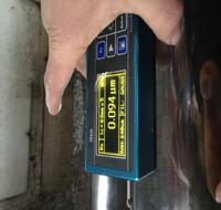 高束能镜面加工设备加工后测试效果